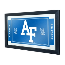 Air Force FalconsT Framed Logo and Mascot Mirror