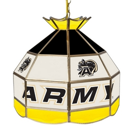 Army Black Knights 16 Inch Stained Glass Lamp