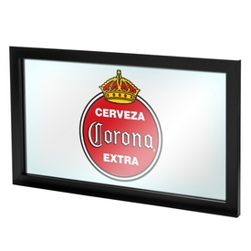 Corona Framed Logo Mirror - Vintage