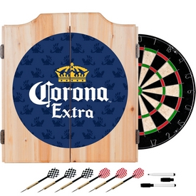 Corona Dart Board Set with Cabinet - Griffin