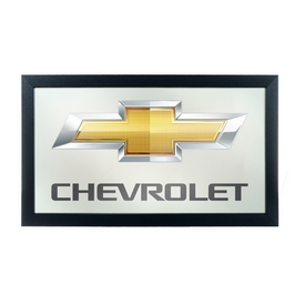 Mirror Framed Bow Chevrolety Chevy Tie Chair