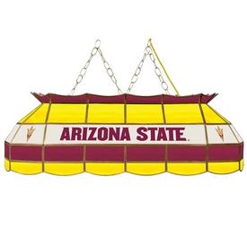 Arizona State University Stained Glass 40 Inch Billiard Lamp