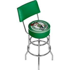 Boston Celtics NBA Padded Swivel Bar Stool with Back