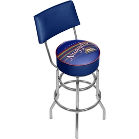 Denver Nuggets NBA Hardwood Classics Bar Stool w/ Back