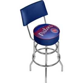 Detroit Pistons NBA Hardwood Classics Bar Stool w/ Back