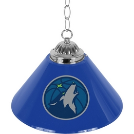 Minnesota Timberwolves NBA Single Shade Bar Lamp - 14 inch