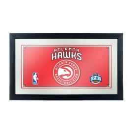 Atlanta Hawks NBA Framed Logo Mirror