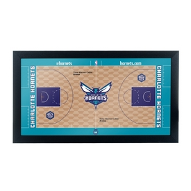Charlotte Hornets Official NBA Court Framed Plaque