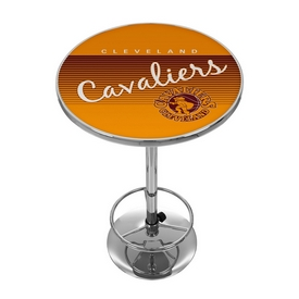 Cleveland Cavaliers Hardwood Classics NBA Chrome Pub Table