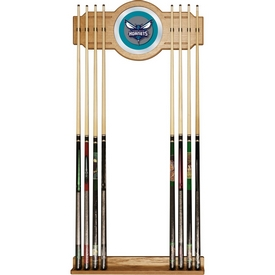 Charlotte Hornets NBA Billiard Cue Rack with Mirror