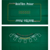 Blackjack and TX Holdem 2 Sided Layout 36 x 72 inch