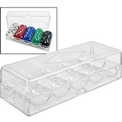 Clear Acrylic Chip Rack/Tray (to be used with COVER)