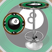 8-Ball Light Pub Table