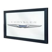 Chrysler Framed Logo Mirror