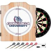 Gonzaga University Dart Cabinet - !ncludes Darts and Board
