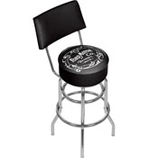 Ford Swivel Bar Stool with Back - Vintage 1903 Ford Motor Co.
