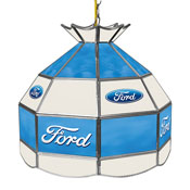 Ford 16 Inch Handmade Stained Glass Lamp