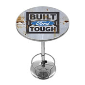 Ford Chrome Pub Table - Built Ford Tough