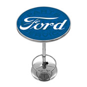 Ford Chrome Pub Table - Ford Genuine Parts