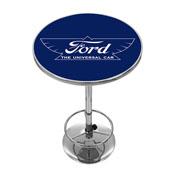 Ford Chrome Pub Table - The Universal Car