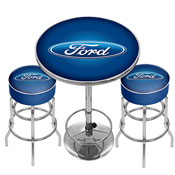 Ford Game Room Combo - 2 Bar Stools and Table