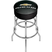 Chevrolet Padded Swivel Bar Stool - Chevy Racing