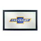 Chevrolet Framed Logo Mirror - Super Service