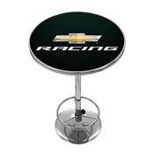 Chevrolet Chrome Pub Table - Chevy Racing