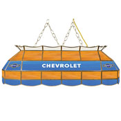 Chevrolet 40 Inch Handmade Stained Glass Lamp - Super Service