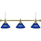Chevrolet 3 Shade Brass Billiard Lamp - Super Service