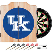 University of Kentucky Wood Dart Cabinet Set - Wordmark