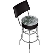 U.S Army This We'll Defend Padded Bar Stool with Back