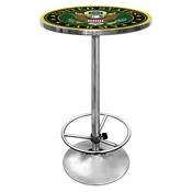 Symbol Chrome Pub TableUS Army pub table bar table