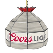 Coors Light 16 Inch Handmade Stained Glass Lamp