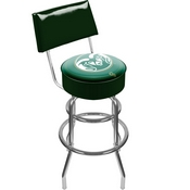 Colorado State University Padded Swivel Bar Stool with Back