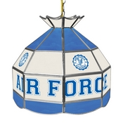 Air Force Falcons 16 Inch Stained Glass Lamp