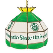 Colorado State University Stained Glass 16 Inch Billiard Lamp