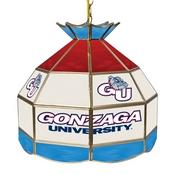 Gonzaga University Stained Glass 16 Inch Billiard Lamp