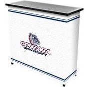 Gonzaga University 2 Shelf Portable Bar w/ Case