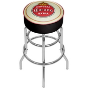 Corona Padded Swivel Bar Stool - Vintage