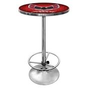 Pontiac Firebird Red Chrome Pub Table