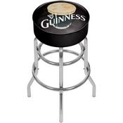 Guinness Padded Swivel Bar Stool - Smiling Pint