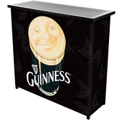 Guinness Portable Bar with Case - Smiling Pint