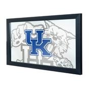 University of Kentucky Wildcats Framed Logo Mirror - Fade