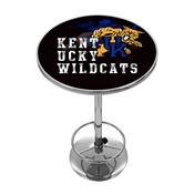 University of Kentucky Chrome Pub Table - Smoke