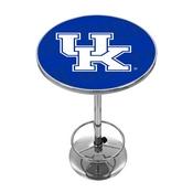 University of Kentucky Chrome Pub Table - Wordmark