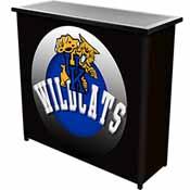 University of Kentucky Wildcats Portable Bar with Case - Honeycomb
