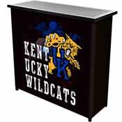 University of Kentucky Wildcats Portable Bar with Case - Smoke