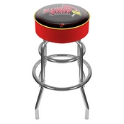 Illinois State University Padded Bar Stool
