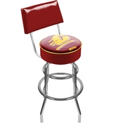 Central Michigan Padded Bar Stool with Back